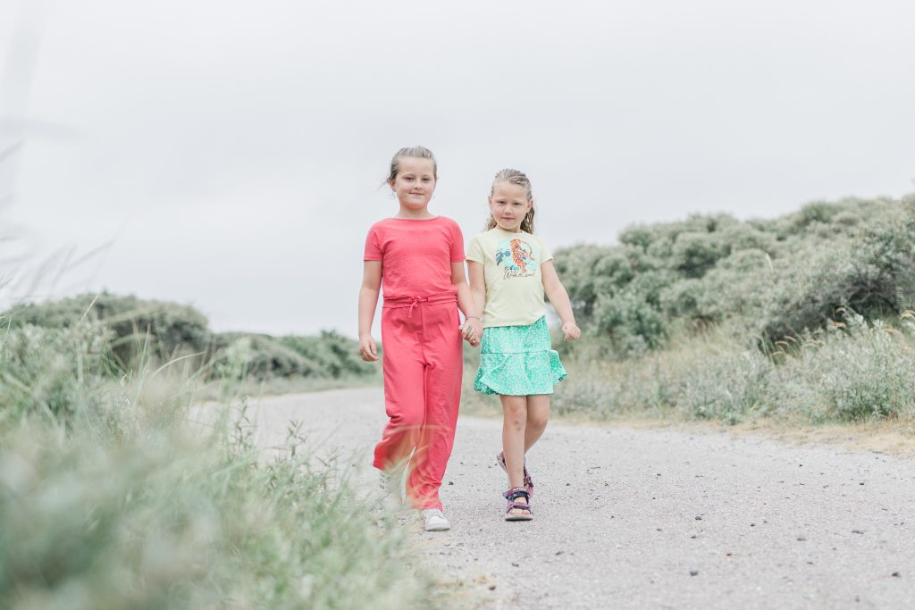Fotoshoot familie Ameland